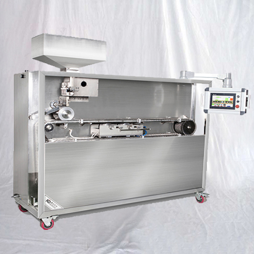 Liquid-filled hard capsules banding sealing machine integrated with filling sealing equipment