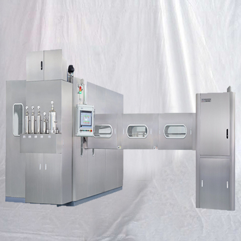 Fully automatic small plastic bottles BFS equipment pharmacy containers blow fill seal machine