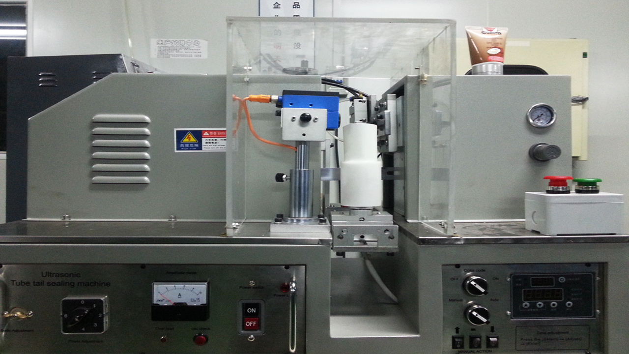 ultrasonic tubes sealing machine semi automatic tube sealer