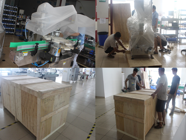 wooden case packing for rings sealing machine jars capper.jp