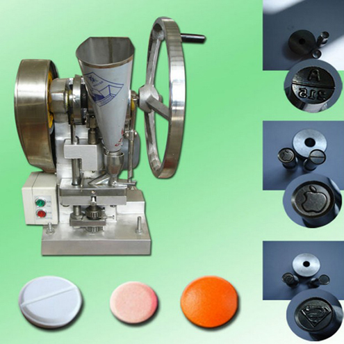 single punch tablet press machine tablets making machine