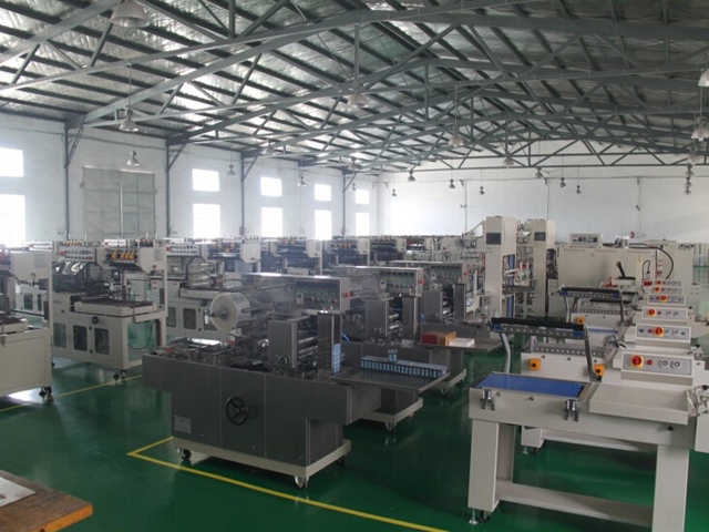 Manufacturer BTB-300A CE cellophane box overwrapping machine for playing cards