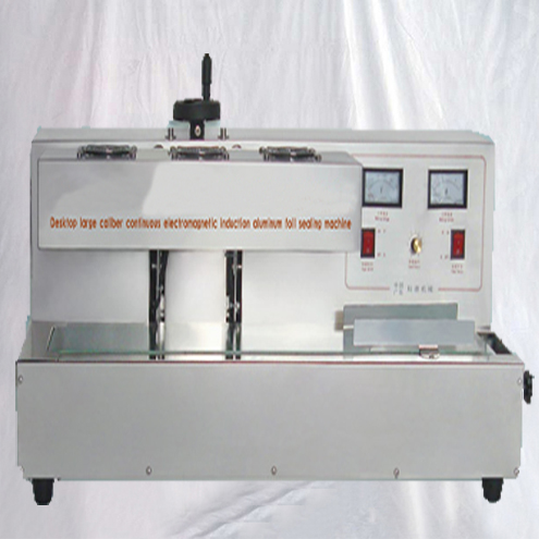 Induction cap sealing machine tabletop induct heating system semi automatic for large bottles elctromagnetic sealer