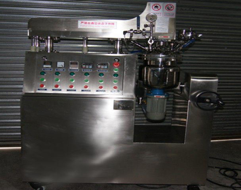 10L cream manufacturing machine vacuum mixer small vacuum homogenizer equipment laboratory lotion mixer