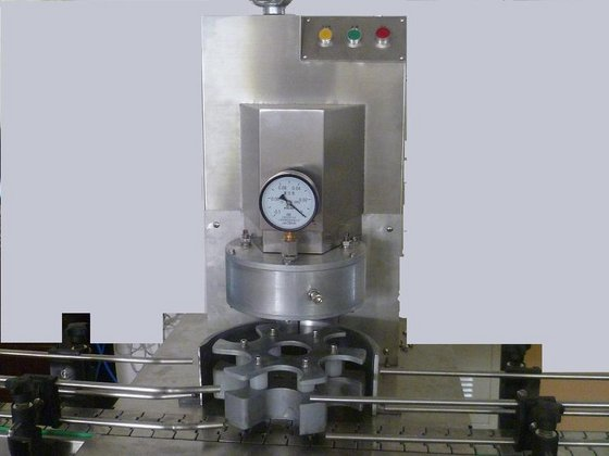 benchtop vacuum capping machine semi automatic vacuum capper equipment for glass bottles