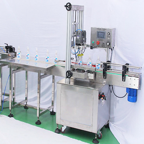 automatic inline capping machine