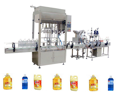 automatic filling machine with screw capper for various bottles linear filling capping rotary filler and capper