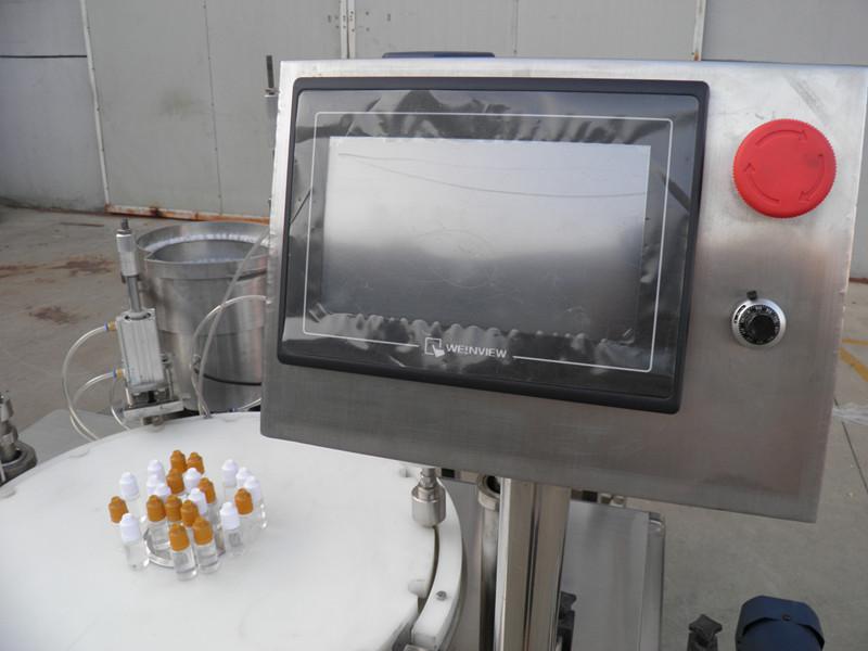 E liquid PLC bottle filler capping labeling.jpg