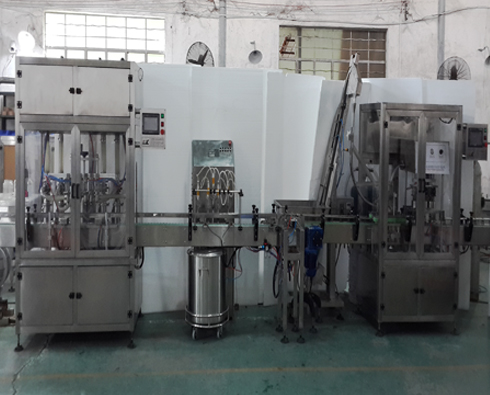 Thick sauce pepper peanut butter paste tomato cream glass jars bottles washing filling vacuum capping machines production line
