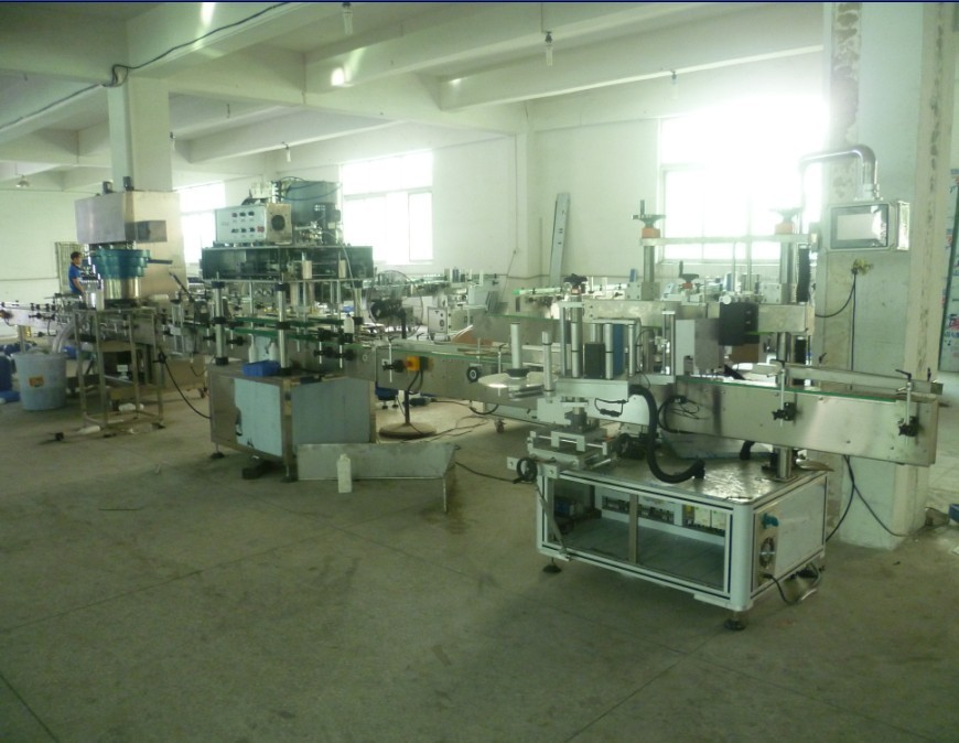 Rotary Medical liquid Filling capping sticker labeling machinery Automatic Lab use small bottles filler packaging line