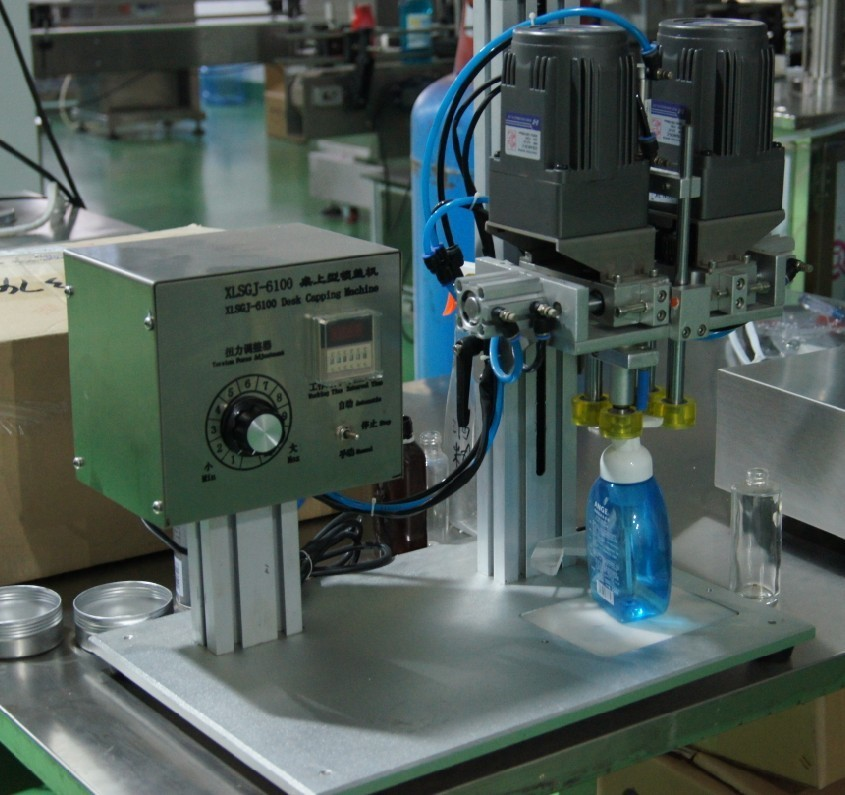 liquid detergent production line semi automatic