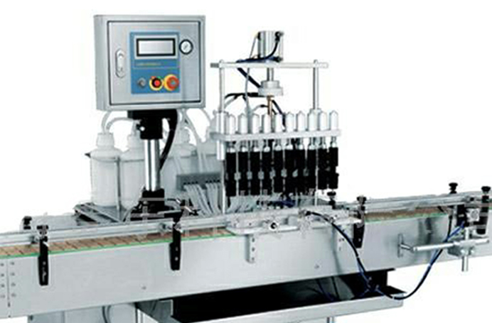 10 Heads Pneumatic Vacuum Filling Machine For All Kinds Of