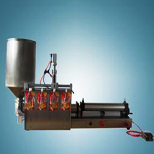 juice cream drinking jelly bags filling machine semi automatic pneumatic filler equipment for stand up bag أكياس صنبور ملء