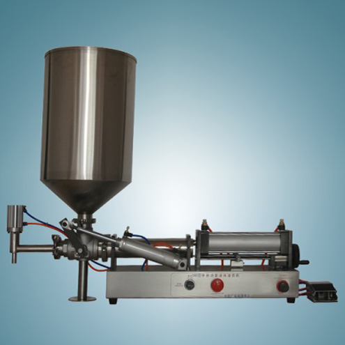 high viscosity sticky materials peanut butter honey filling machine with hopper pressure boosting system customized filler equipment