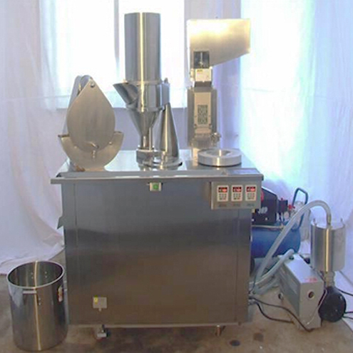 empty capsules filling machine