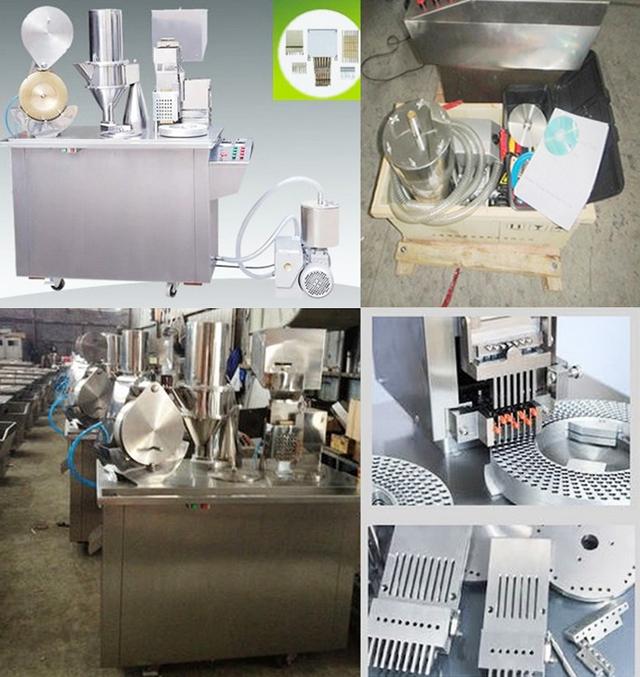 equipments for capsule filling.bmp