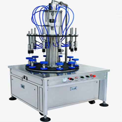 Vacuum 10 Heads Rotary Low Viscosity Toilet Water Perfume Filling Machine Semi automatic cosmetic liquid filler cosmetics packing machinery