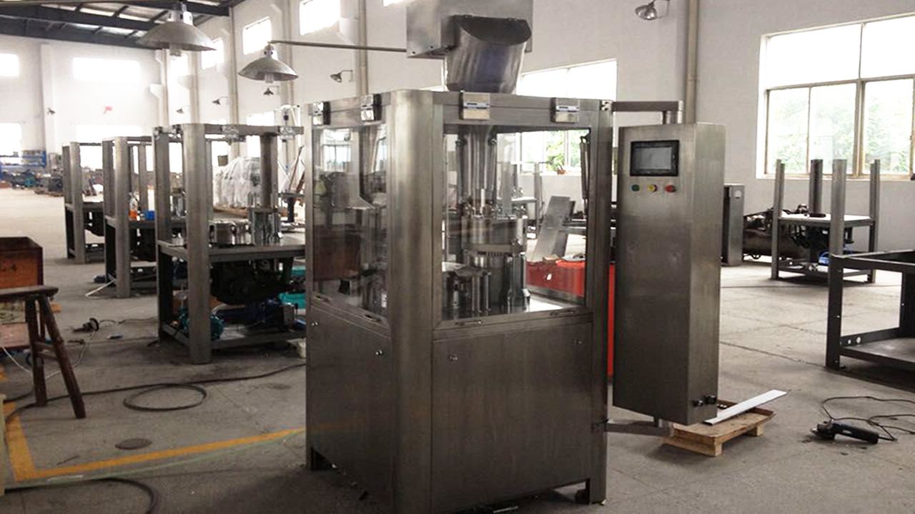 Automatic Pharmaceutical Capsule Filling Machine Semi