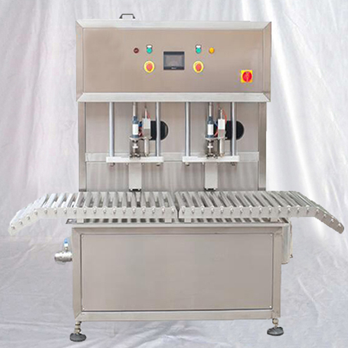 Bag-in-Box aseptic packaging juice wine syrup filling capping machine dual heads filler capper automatic