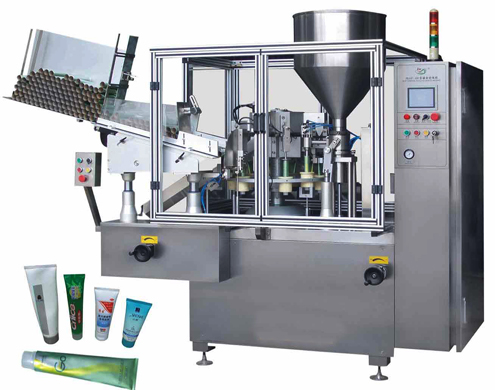 Plastic tubes filling and sealing machine automatic inner heating for toothpaste production line machines from A to Z  automatic tubes filler sealer equipment