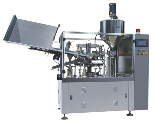 tubes filling sealing machine semi automatic or fully automatic for plastic metal laminated tubes
