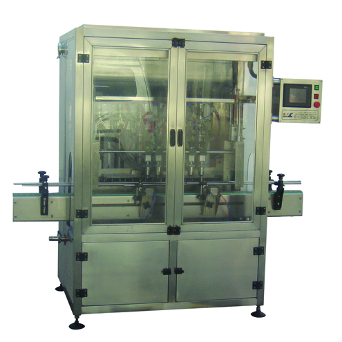 Sesame sauce linear filling Rotary screw capping induction sealing machine for PET bottles& jars 500ml to 1000ml