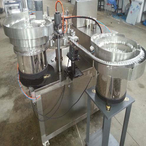 Super Glue 502 Filling Sealing Machine Liquid Flue Paste Rotary Filler Cer Equipment With Manual