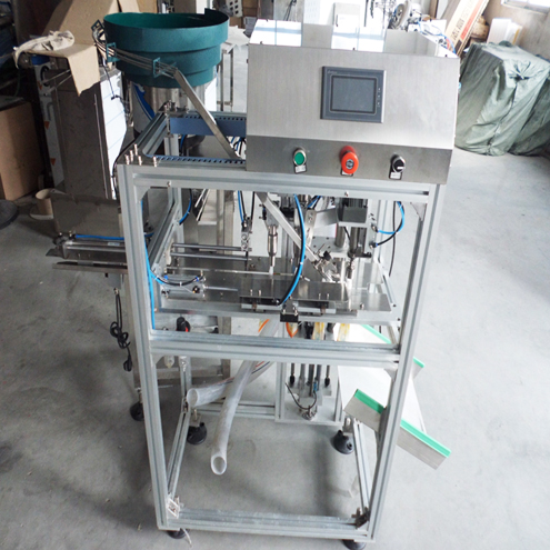 Stand up spout bags liquid juice drinking food filling sealing machine automatic filler screw capper equipment