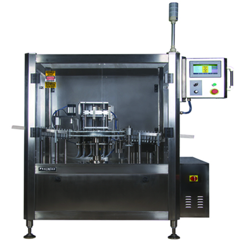 fully automatic pre-sterilized syringe filling plugging sealing machine pharmaceutical injector filler capper line