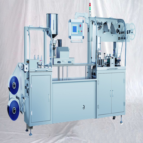 olive oil blister forming filling sealing machine automatic perfume liquid former filler sealer equipment