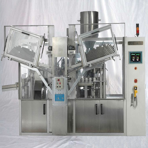 Ointment cream lotion paste tubes filling sealing high speed equipment filler sealer machinery