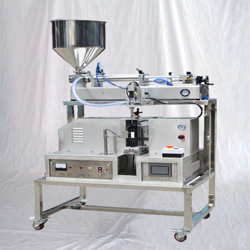 tube filling machine semi automatic tubes filler online with ultrasonic sealing equipment customized fill-seal set