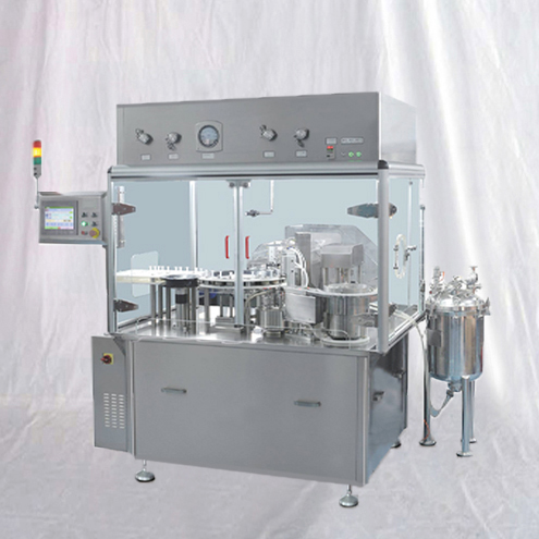 Gel liquid PSF filling plugging sealing machine pharmaceutical syringes filler capper equipment