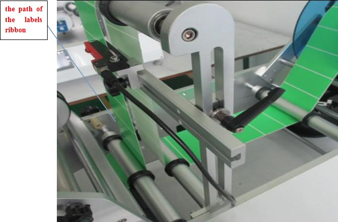 WRAPPING PATH FOR labeling machine for syringe.jpg