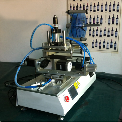 rolling labeling machines semi automatic customized labeler