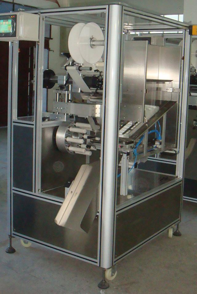 Automatic Empty Tube Arranging Labelling Machine
