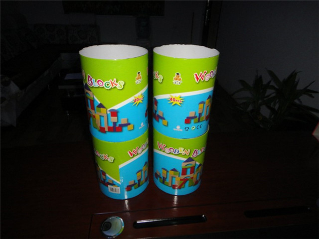 labeled cups by the paper carton pipe bottle hot melt glue l