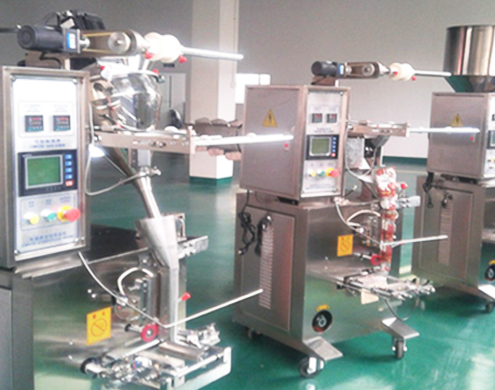 Inner and Outer Teabag packing machine with Tag and thread  Tea packaging machinery Teabag With Thread Label