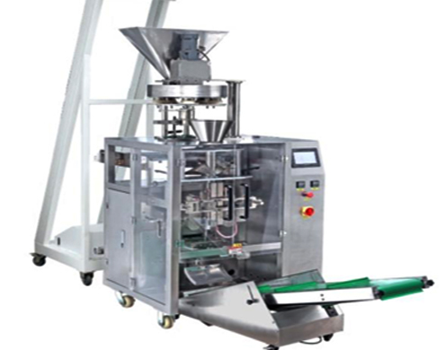 Vertical FFS Salt packaging machine 100-1000g volumetric cups measuring system packing equipment