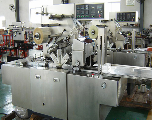 fully automatic high speed overwrapping packing machine 3D transparent film overwrapper equip semi automatic