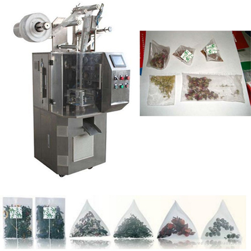 Ultrasound Sealing Pyramid Nylon Teabag Packing Machine Ultrasonic cutting triangle bags packaging equipment tea