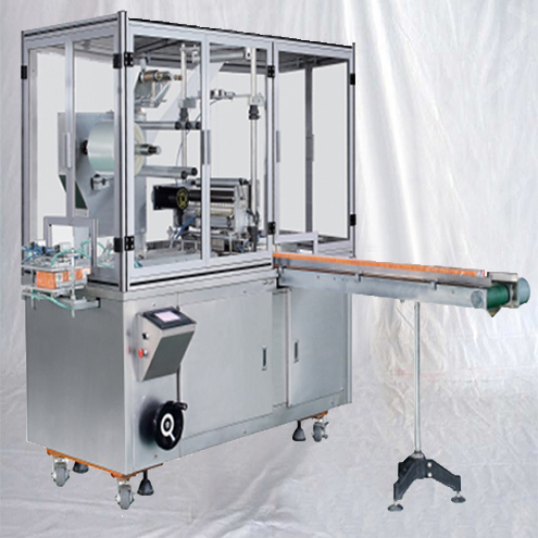 Automatic Cellophane Over Wrapping Packing Machine High Speed Group Perfume Tea Boxes Shrink Overwrapper Equipment