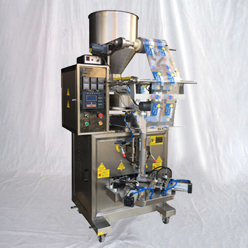 Triangle bags granules packing machine customized vertical chocolate beans tea snacks food bagging equipment