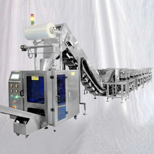 Bag packaging machine fully automatic 20 feeding bowl hardware fasteners counting filling bagging equipment