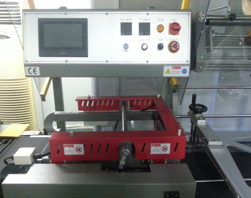L type sealer machine without shrinkage tunnel samples from Haridwar India received