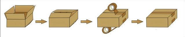 sealing process from semi automatic carton sealer.jpg