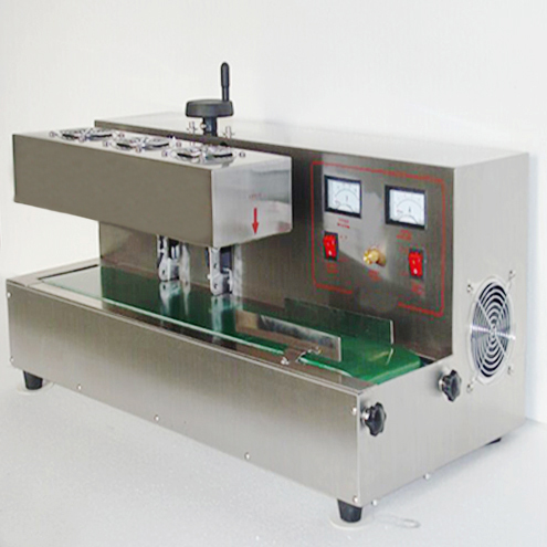 tabletop induction sealing machine for medical bottles pharmaceutical packaging electromagnetic induction aluminum foil heating sealer