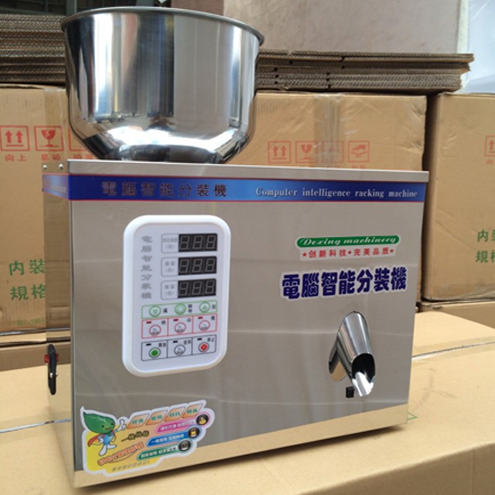 1-50g powder tea herb articles stainless steel weighing filling machine semi automatic powder weigher filler machinery