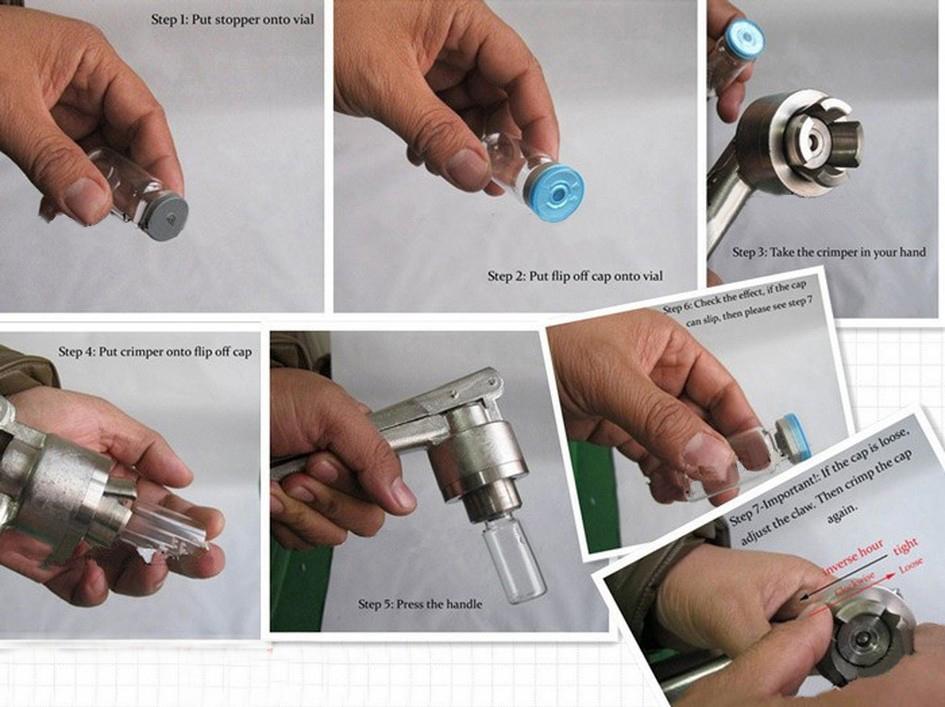 Perfume Bottles Vials Ampoule Aluminum Caps Manual