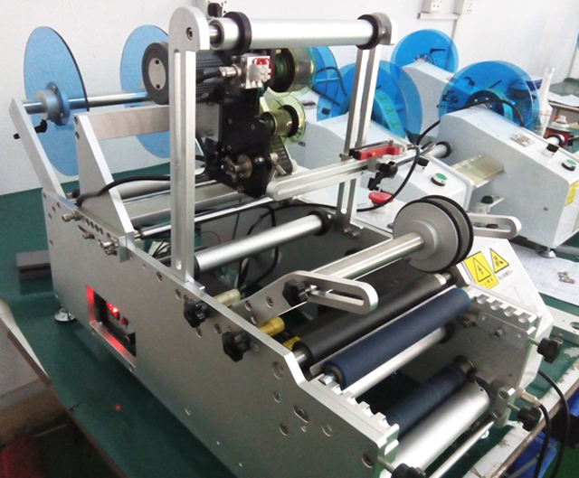 LABELING MACHINE SEMI AUTOMATIC for injection needle.jpg